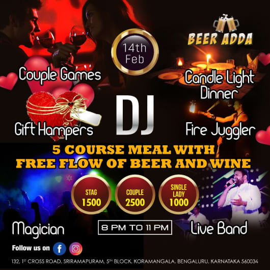Valentine's day  @ Beer Adda