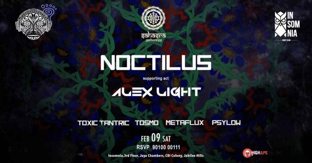 NOCTILUS (Parvati records) Live in Hyderabad