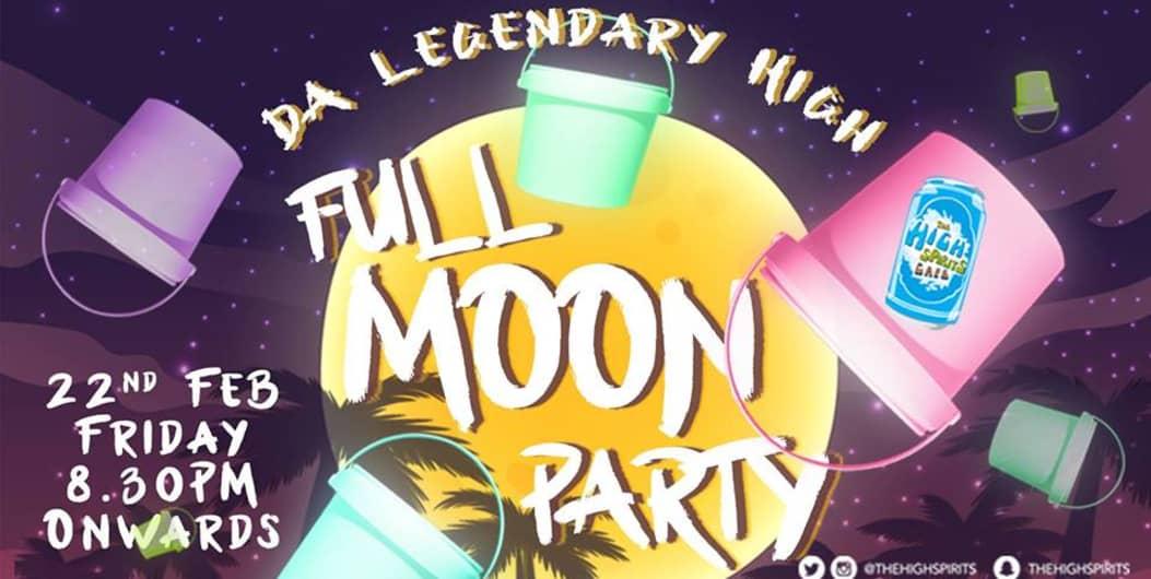 Da Legendary High Full Moon Party