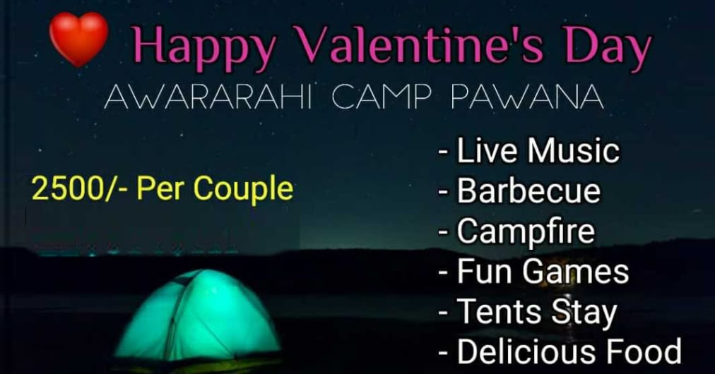 Valentine's Day Special - Lakeside Camping at Pawna