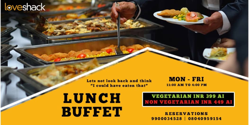 Lunch Buffet at Love Shack