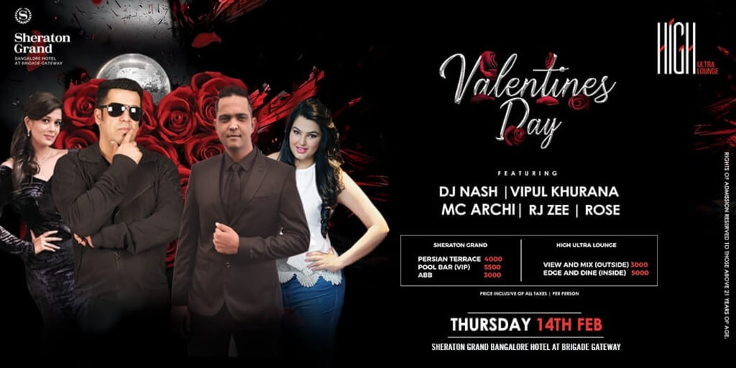 Premium Valentine's day @ Sheraton