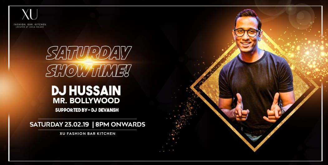 Saturday Bollywood Night ft Dj Hussain at XU