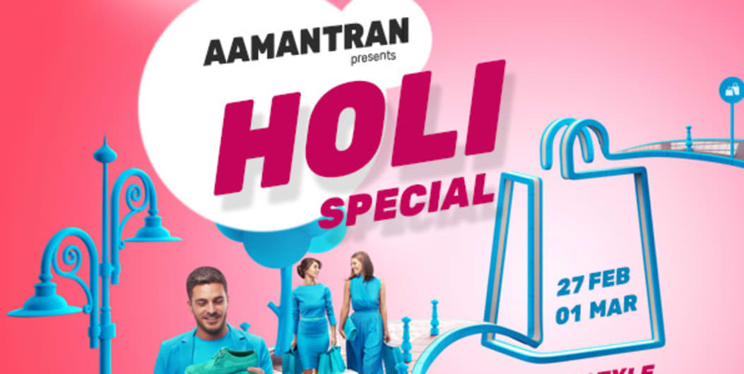 AAMANTRAN - Holi Special Lifestyle Exhibition at Mumbai