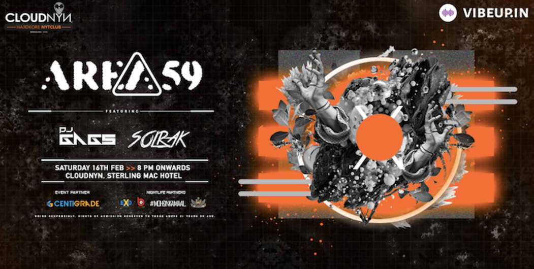 CLOUDNYN Presents Area 59 Ft DJ Gags and DJ Solrak