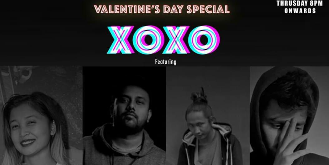 Xoxo valentine day