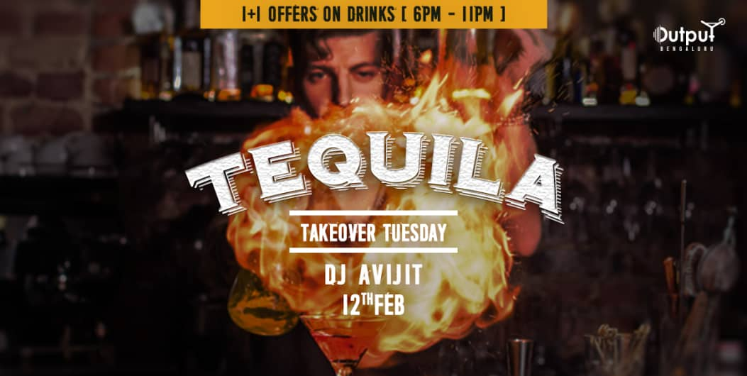 Tequila Takeover Tuesday (1+1 Offer on Drinks)