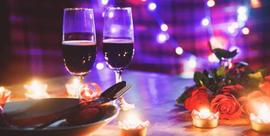 Valentine's Day Candle Light Dinner At Valley Vibes Resort