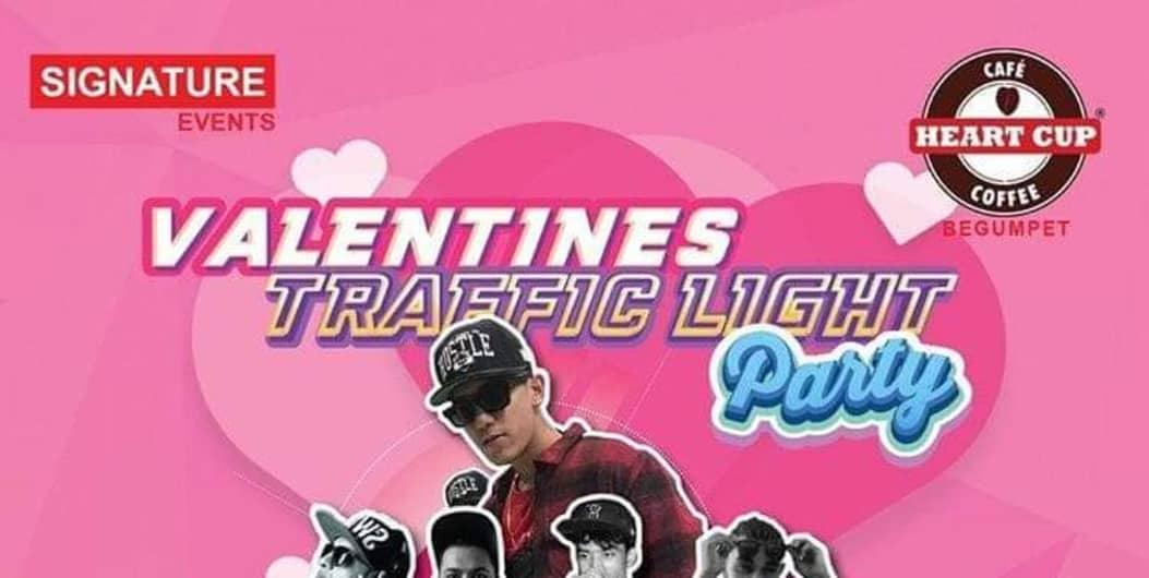 Valentine's Traffic light party