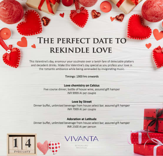 Rekindle Love @Taj Whitefield