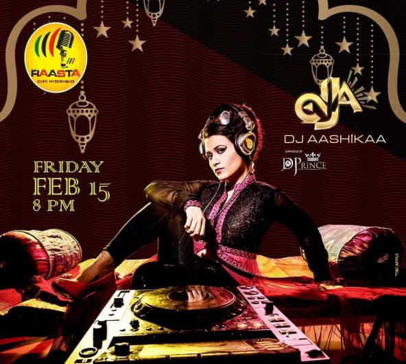 Friday Night with DJ Aashikaa