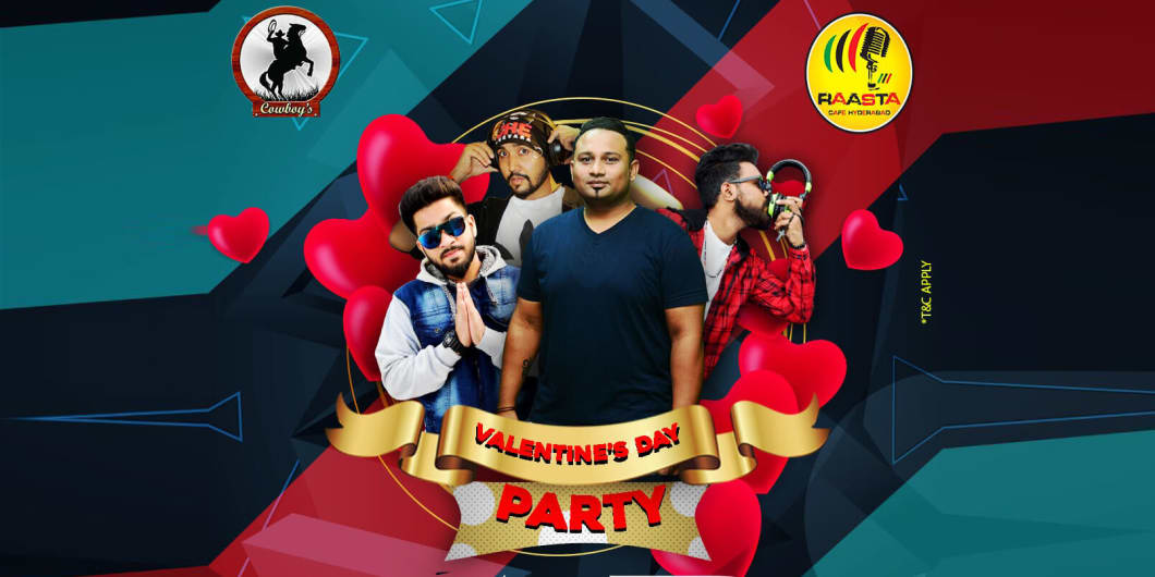 Valentine's Day Party - Raasta Cafe