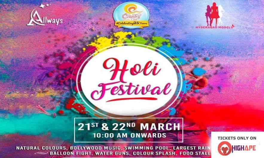 Holi Festival 2K19 - With DJ Pratap & DJ Vinish