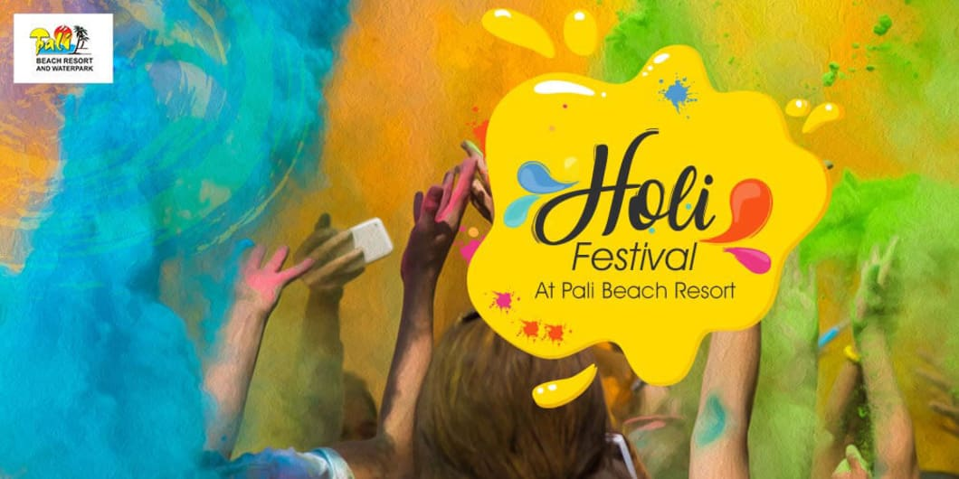 Holi Festival At Pali Beach Resort