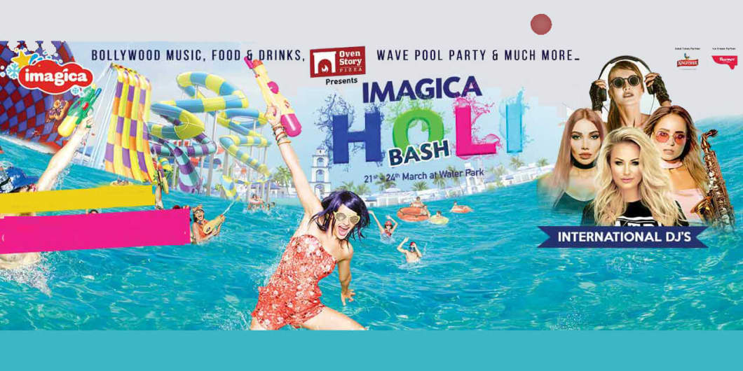 Imagica Holi Bash 2019 - Imagica Water Park