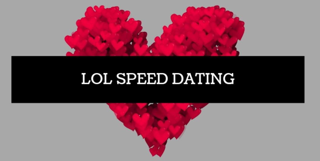 LOL Speed Dating Hyd Apr 6