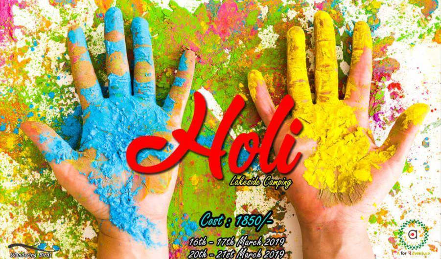 Holi Special Lakeside Camping