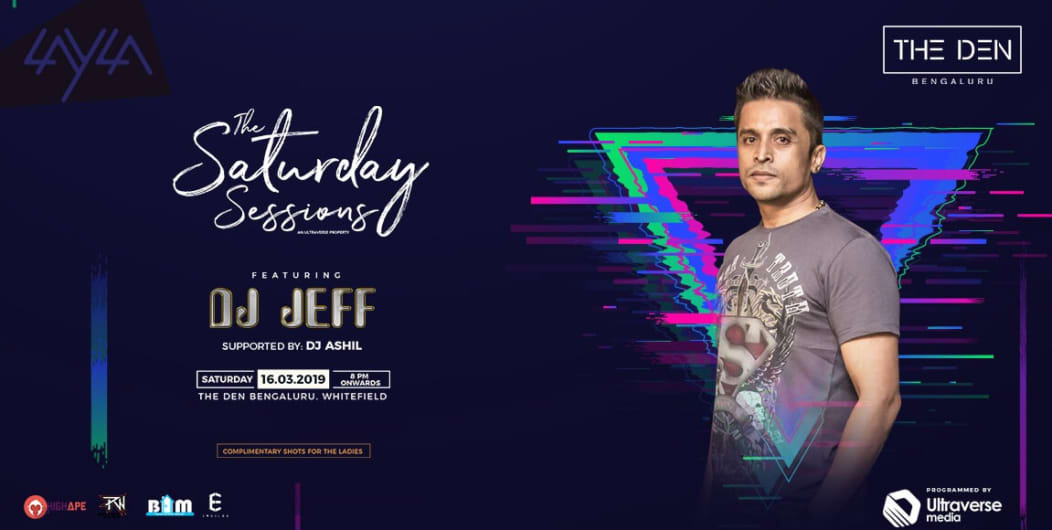 The Saturday Session ft. DJ Jeff