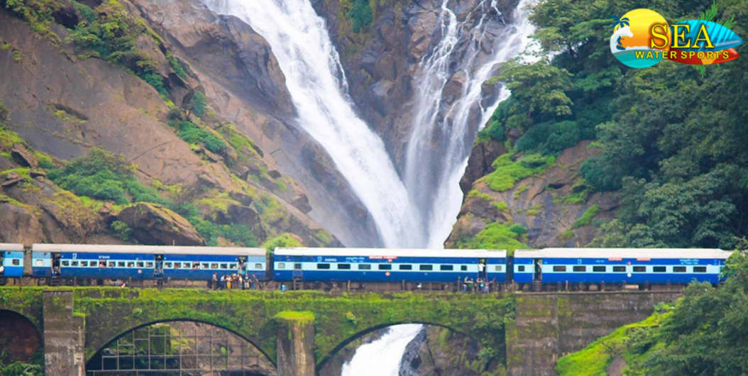Dudhsagar Waterfall At Falls In Sitemap Misc