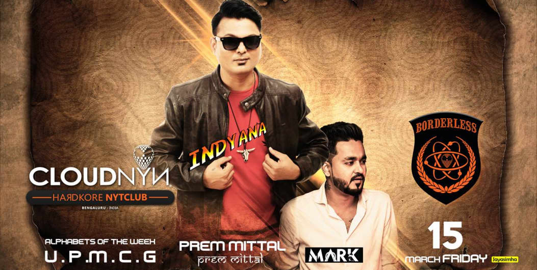 Indyana Friday Bollywood Night at CLOUDNYN