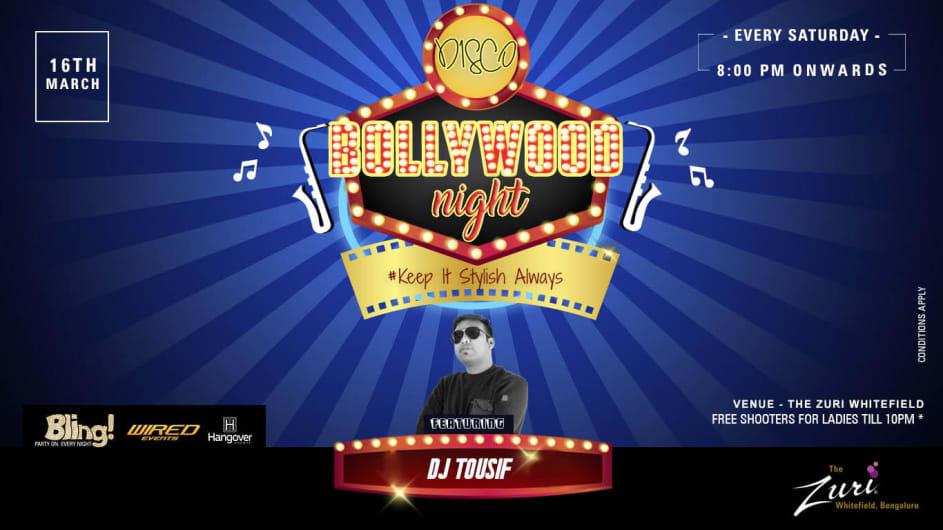 Disco Bollywood Night
