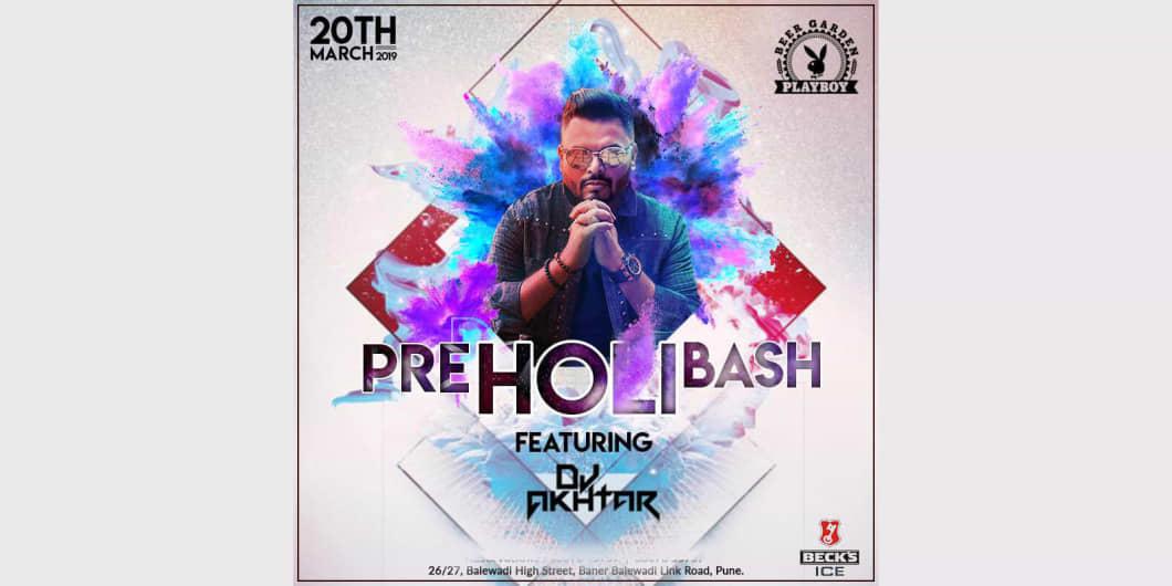 Pre Holi Bash ft. DJ Akhtar