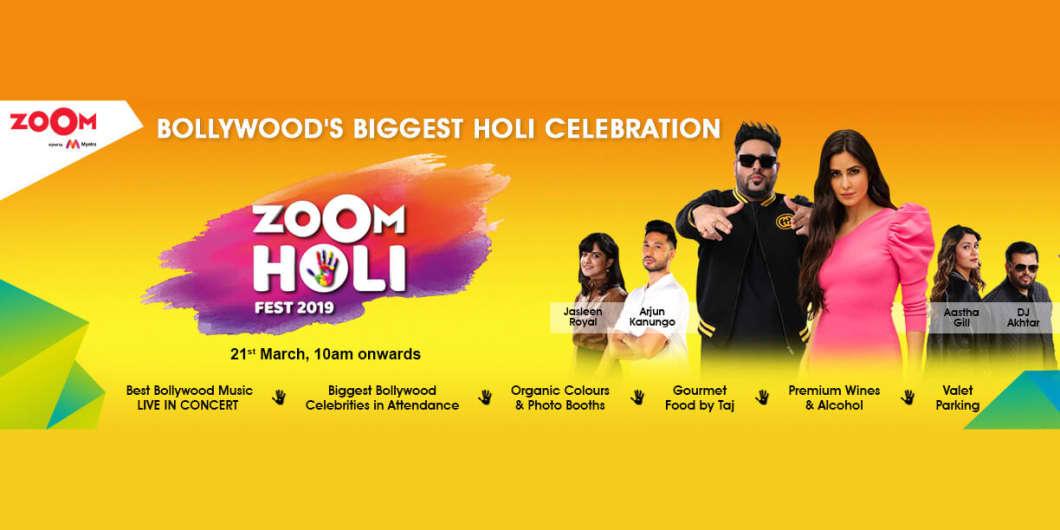 Celebrate Holi With Katrina Kaif And The Bollywood Brigade at The Zoom Holi Fest 2019