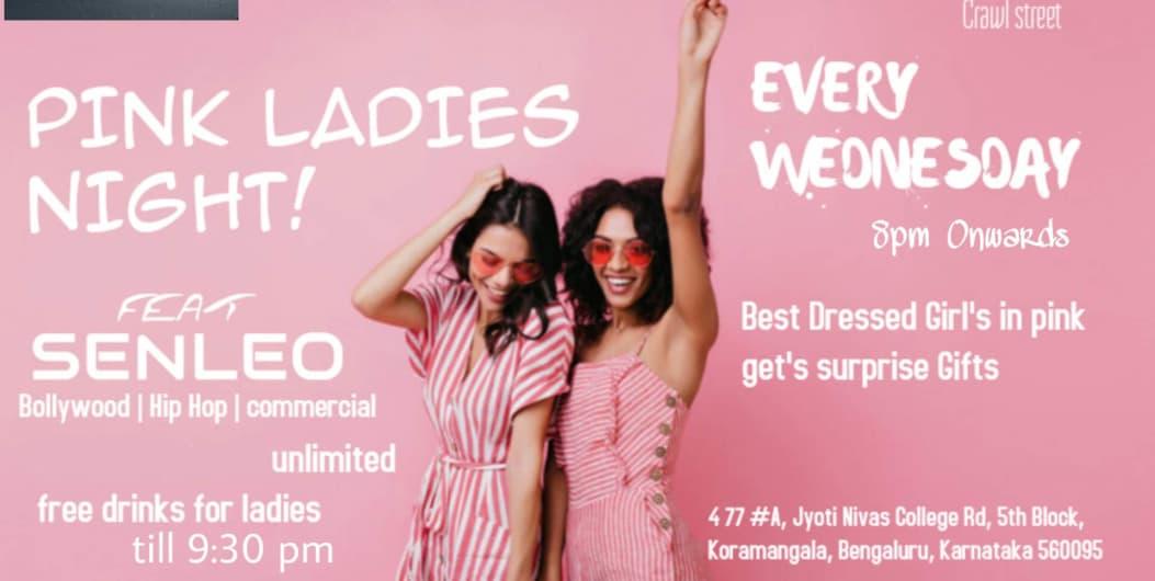 Ladies Night at Crawl Street