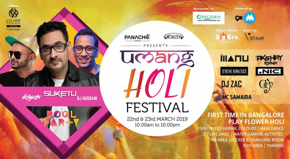 Umang Holi Festival 2k19