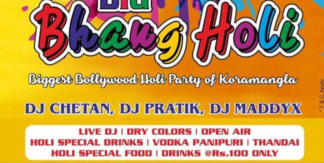 The Big Bhang Holi Party