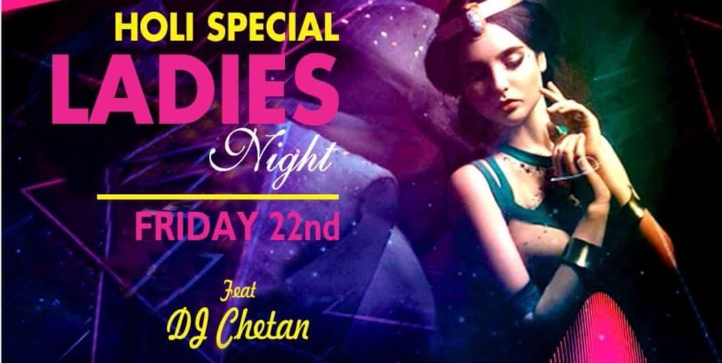 Friday Bollywood & Punjabi Ladies Night -Holi Special