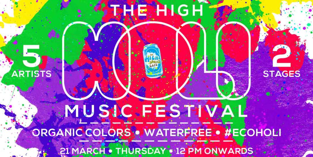 The High Holi Music Festival