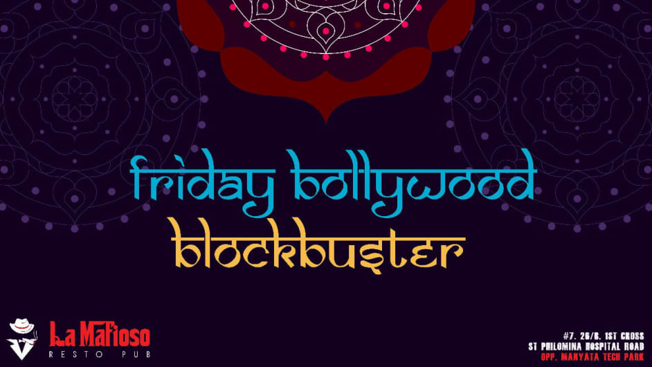 Friday Bollywood Blockbuster