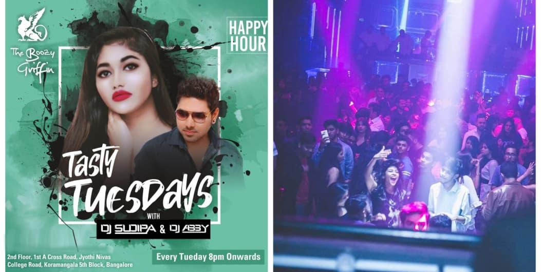 Grand Bollywood Punjabi Tuesday Dance Night Ft. DJ Abby & Sudipa