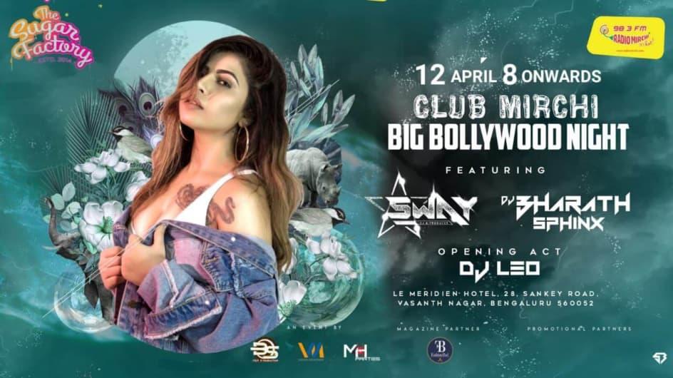Club Mirchi Big Bollywood Night