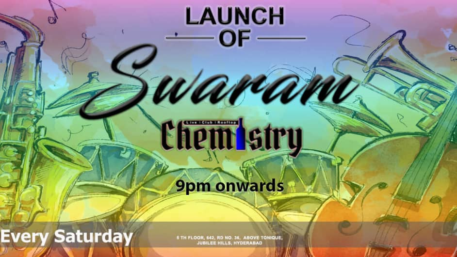Chemistry Live Sessions With Band Swaram