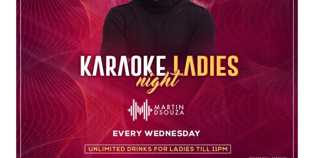 Karaoke Ladies Night ft. Martin DSouza at Love Shack!