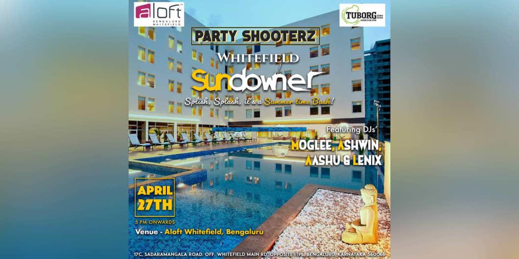 Sundowner Pool Side Party at Aloft Bangalore
