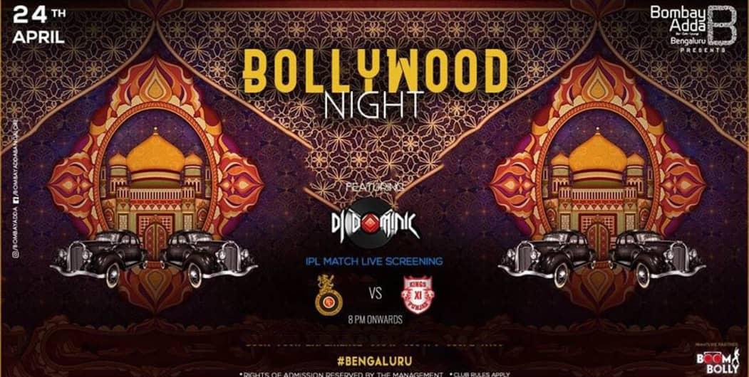 Bollywood Night Feat. DJ Dominic
