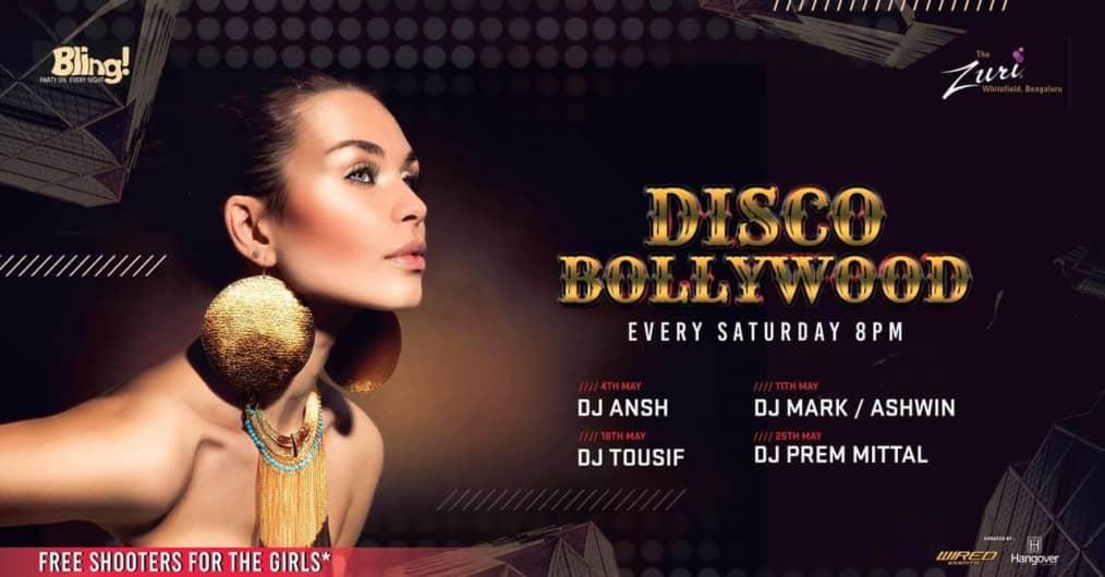Disco Bollywood Night at Bling