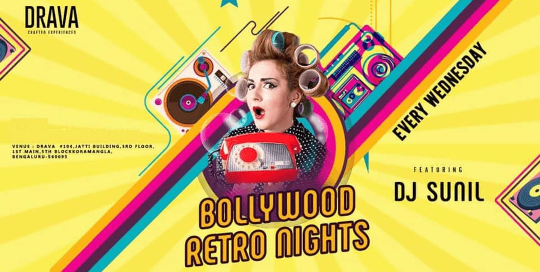 Drava Presents Bollywood Retro Nights