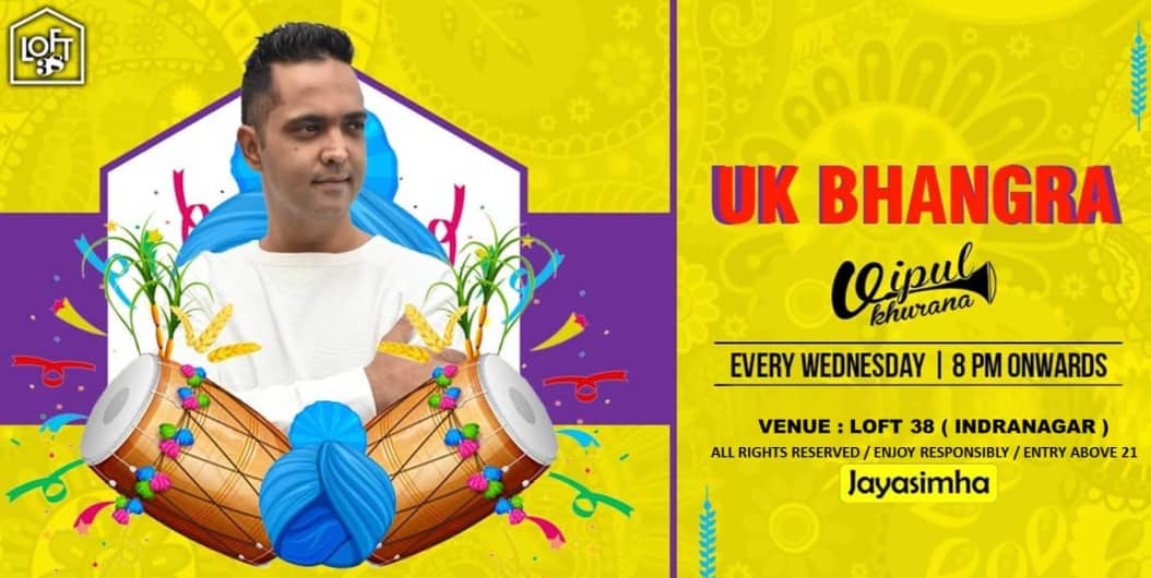 UK Bhangra Night With DJ Vipul Khurana