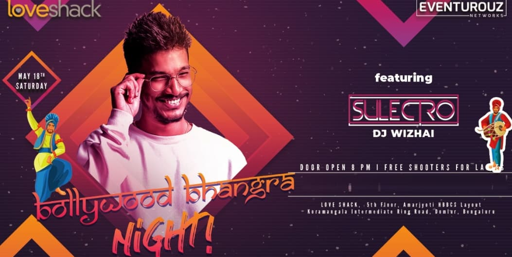 Saturday Bollywood Bhangra Night at Loveshack