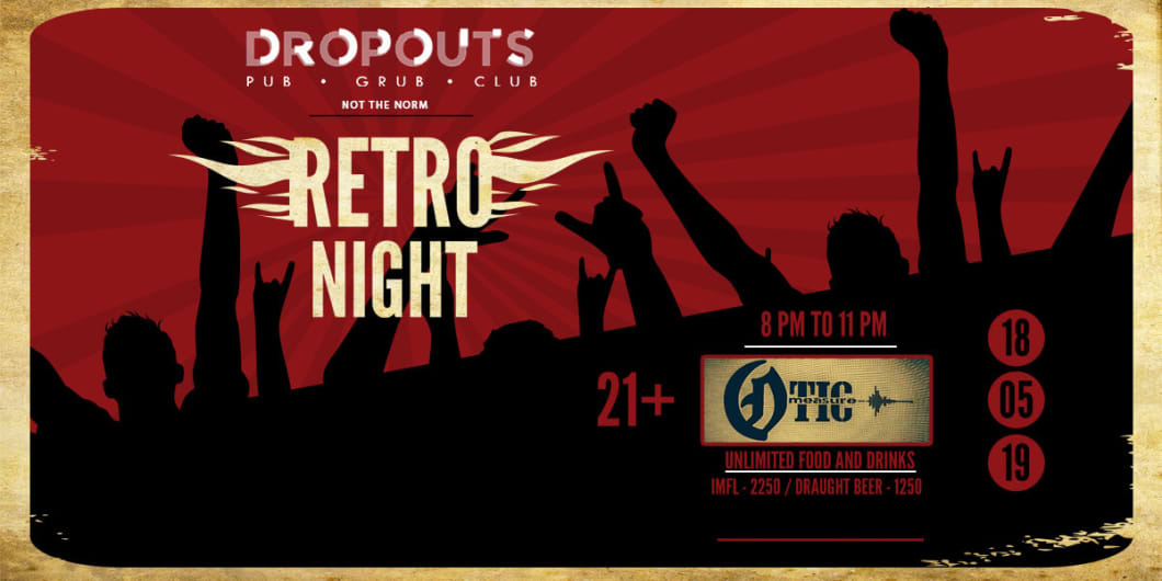 Retro Night With Otic Measure at Dropouts