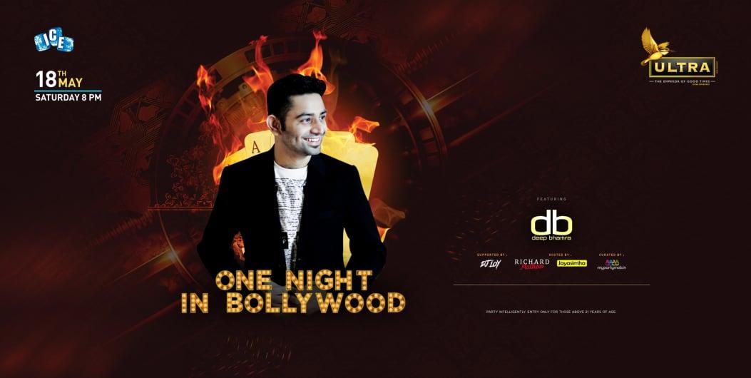 Blockbuster Bollywood Night ft DJ Deep Bhamra at Taj
