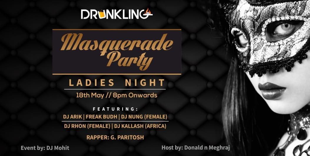 Masquerade Party   Ladies Night
