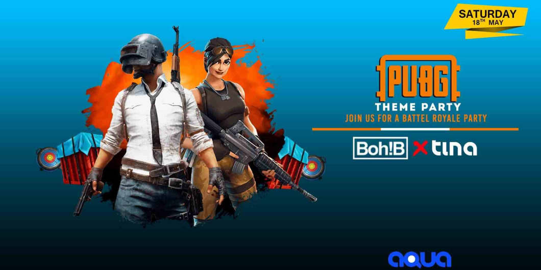 PUBG-Theme Party At Aqua