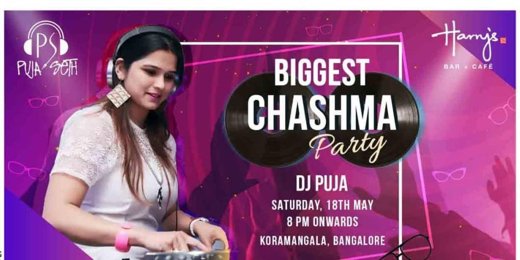 Biggest Chashma Party ft. DJ Puja Seth
