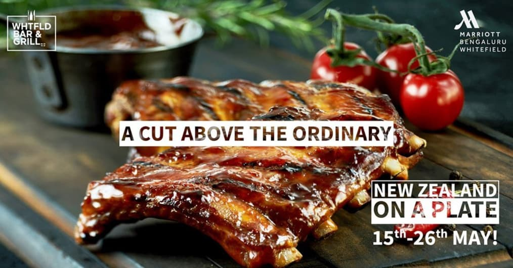 Dine The New Zealand Way at Bengaluru Marriott Hotel Whitefield