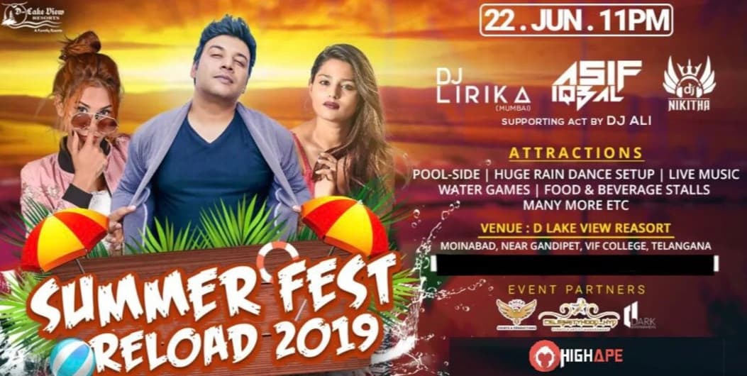 Summer Fest Reload 2019 at D Lake View Resort